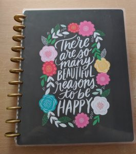 Large happy planner: disc bound