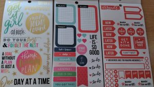 Functional happy planner stickers and happy planner quote stickers