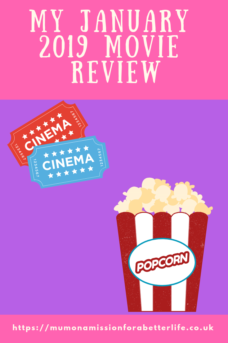 Popcorn and movie tickets for January movie review