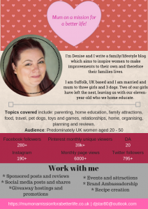 media kit. work with me