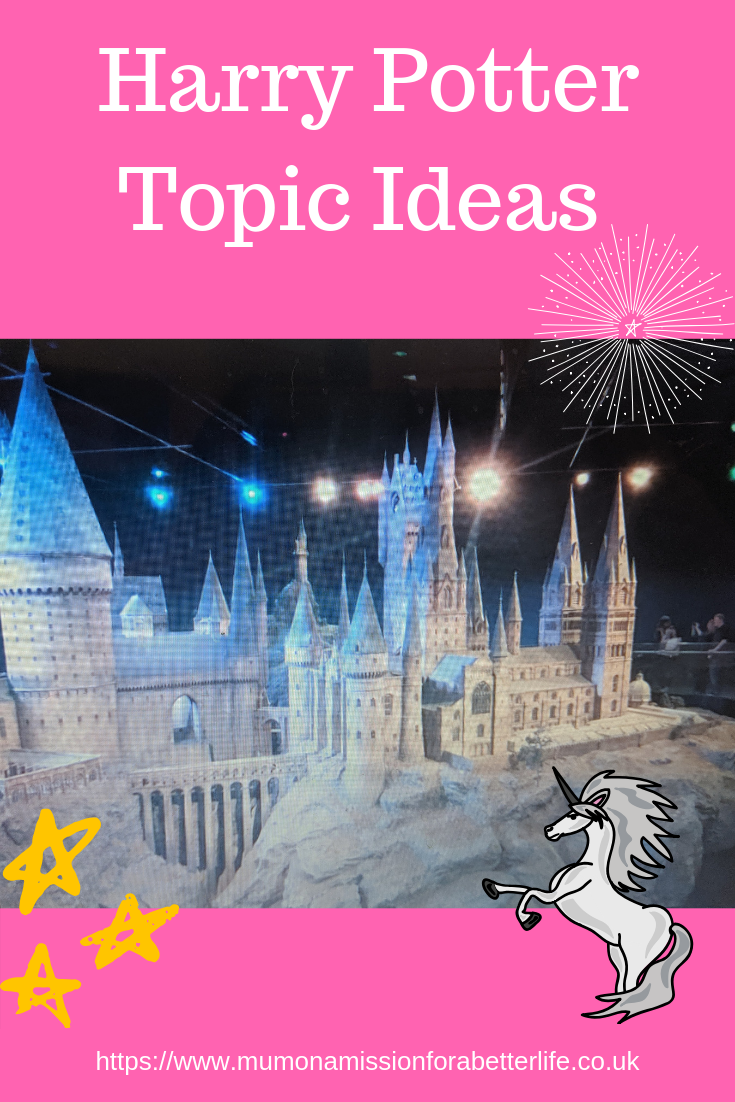 Hogwarts school for the harry potter topic in our home school