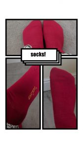 Ladies Pink bamboo socks from the sock shop