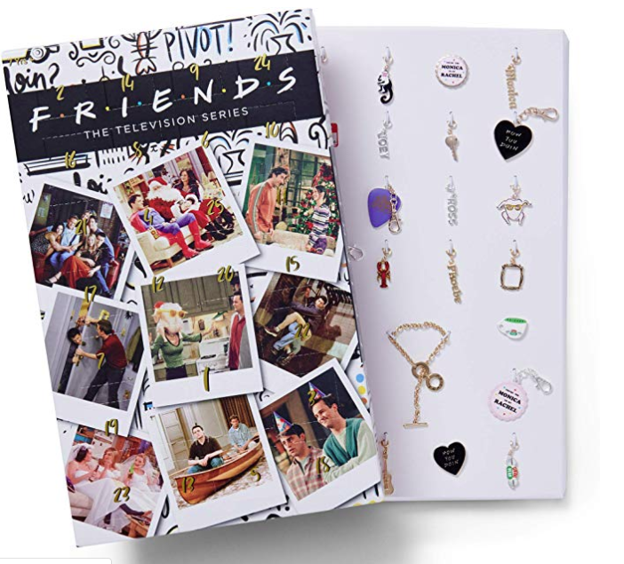 Friends charm bracelet advent calendar