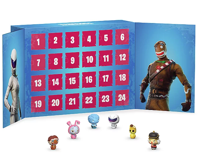 Fortnight funko pop advent