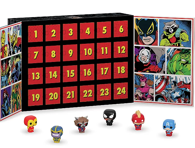 Avengers Funko Pop Advent calendar