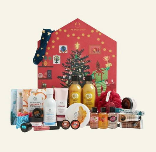 Body shop medium advent calendar