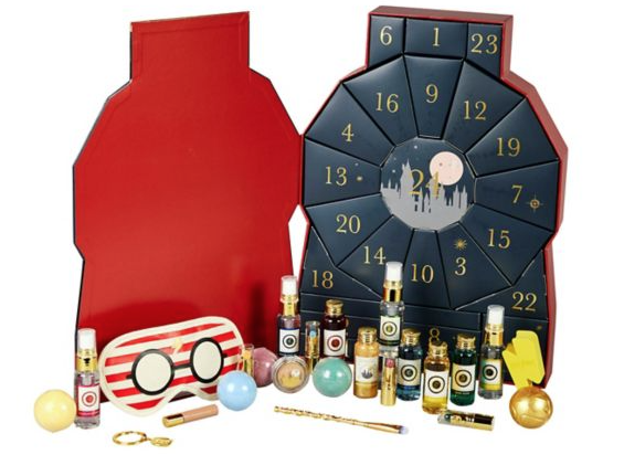 Harry Potter cosmetics advent calendar