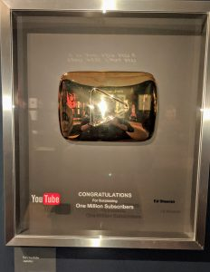 Youtube subscribers award