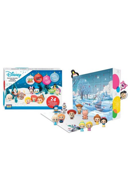 Disney puzzle eraser advent calendar