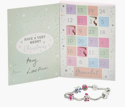 Christmas bracelet advent calendar