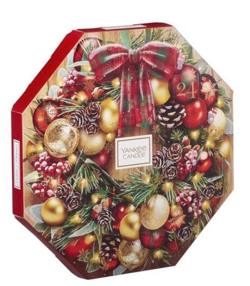 Small Yankee candle advent calendar