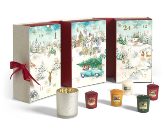 Medium yankee candle calendar