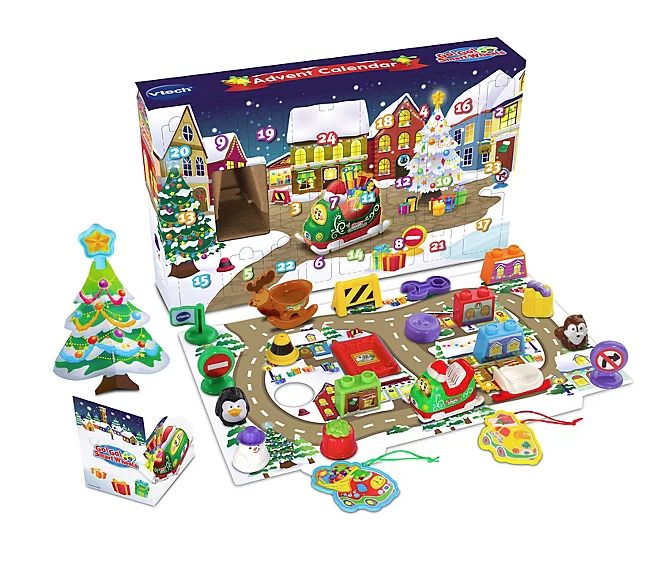 V-tech toot toot advent calendar