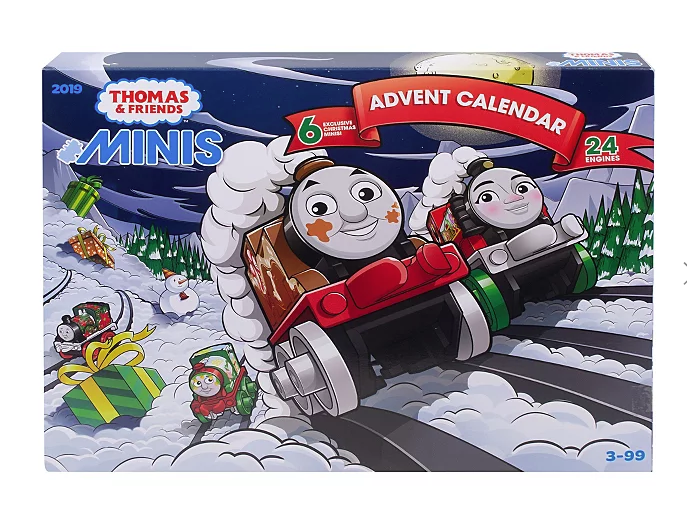 Thomas the tank advent calendar