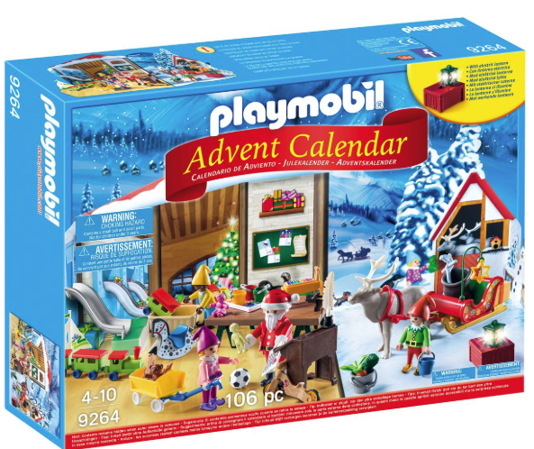 Playmobil Santa's workshop calendar