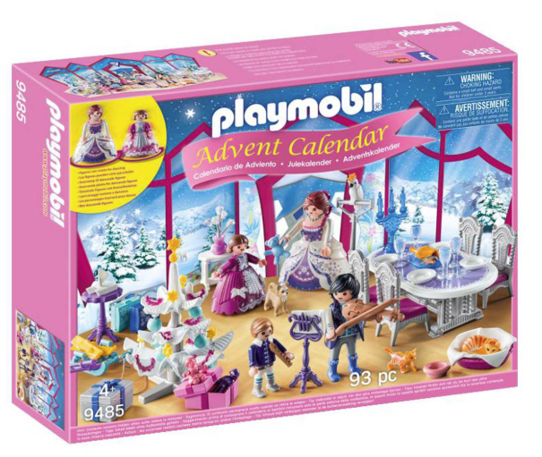 Playmobil Christmas ball calendar
