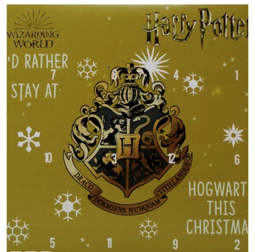 Harry Potter socks advent calendar