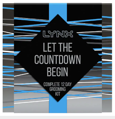 lynx for men advent calendar