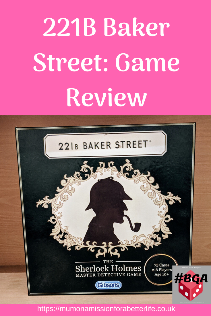 221b Baker Street Game Review