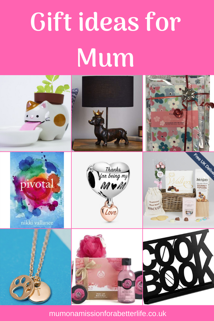 A selection of the gifts which are included in this for mum gift guide