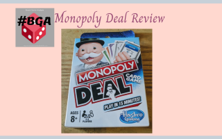 Monopoly deal game box