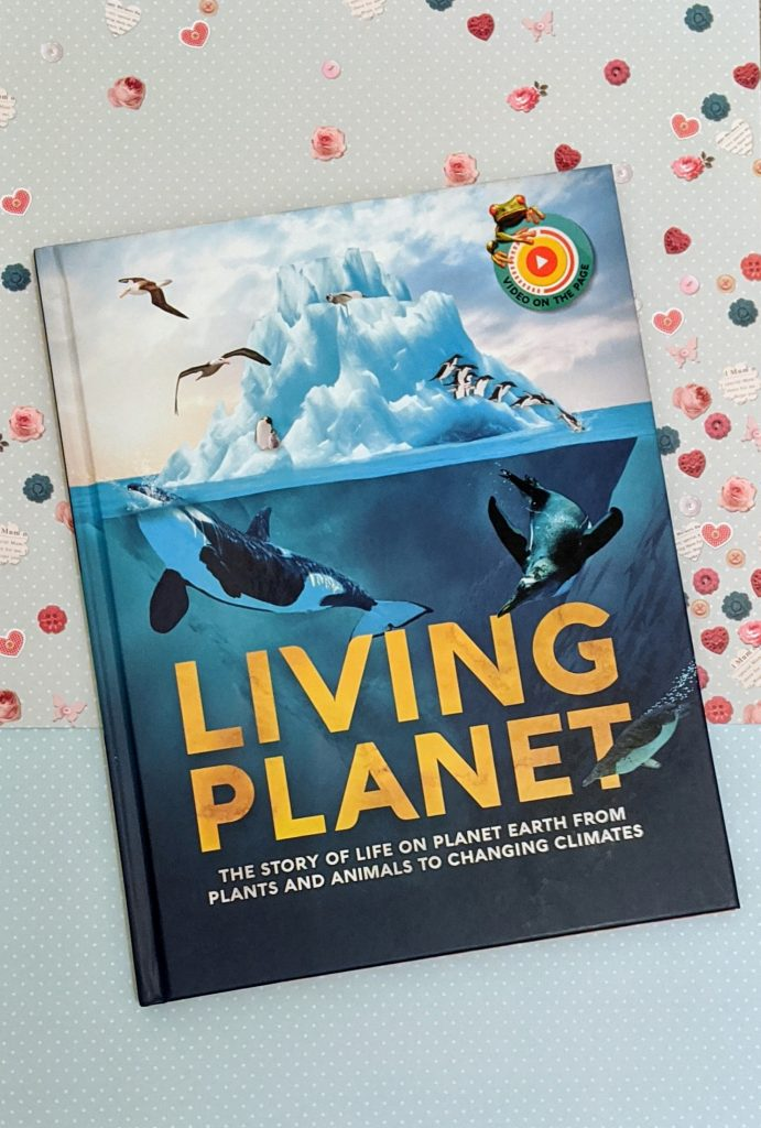 Copy of the book living planet
