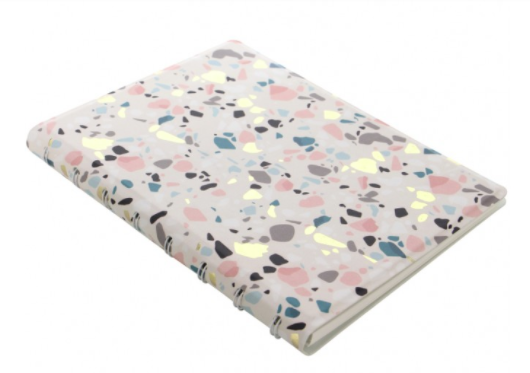Notebook - speckled cover