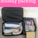 Organising your holiday packing #AD